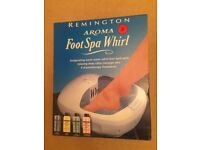 Brand new never used Remington Aroma Foot Spa Whirl