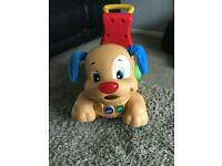 Fisher price Stride and Ride Puppy baby/toddler walker