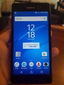 Sony M5 Black 16GB Unlocked (Worldwide) 4G sim free MOBILE PHONE