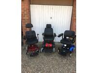 Electric wheelchairs for sale ( NEW BATTERIES)