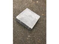 Marshalls block paving squares grey landscaping 27