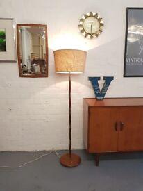 Mid Century Vintage teak Lamp