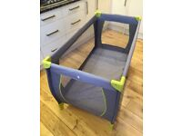 Babysmart Travel Cot with Bassinet