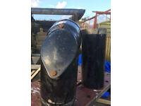 rayburn cast iron flue