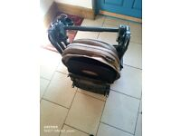 Mamas and Papas Armadillo pushchair with foot muff. Good condition