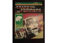 Transformers G1 original Comic no 17 from the 80s