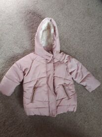 Next infant girls jacket 12/18 months