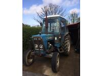 Ford 4600 tractor and forklift