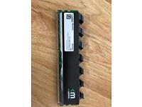 Blackline frostbyte mushkin 8GB DDR3 -12800 Ram