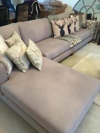 Ex Display Large Corner Sofa