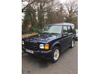 Land Rover discovery 2 diesel Top Spec, excellent condition!