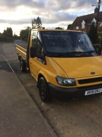 Ford transit dropside mot June 2018 bargain low milage