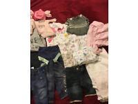 0-3 months baby girl bundle