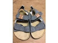 Kids size 8 Next sandals