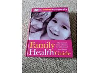 Family health guide book by DK very good condition