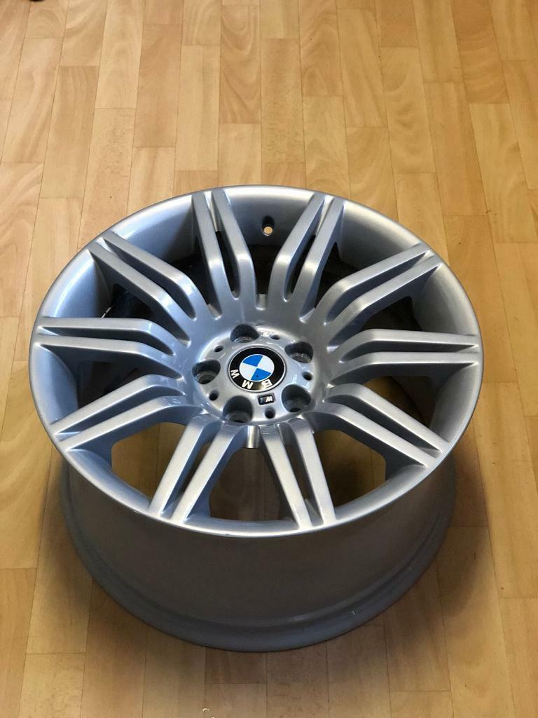 """0b7b47fe9f39 GENUINE REAR BMW 19"""" spyder Alloy Wheel Style 172m 19x9.5 M SPORT spider"""