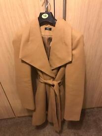 Detachable fur coat
