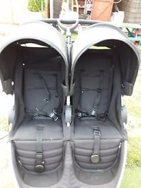 Britax b agile double pushchair