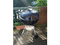 Original Weber Kettle Charcoal Barbecue 57cm, used once