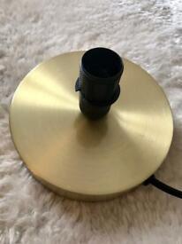 Gold Effect Lamp Base *BNWT*