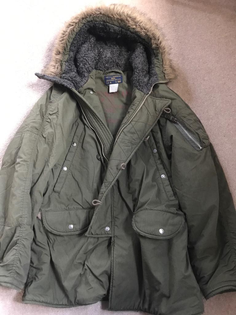 Abercrombie Men's Coat. Medium
