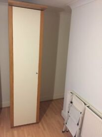 Ikea Large single wardrobe
