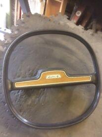 Austin old vintage steering wheel