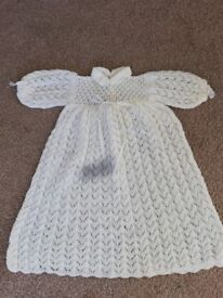 Christening gown white