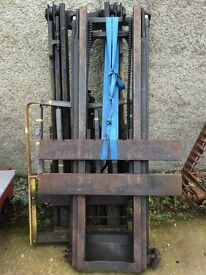 FORKLIFT MASTS FOR SALE - A FEW AVAILABLE