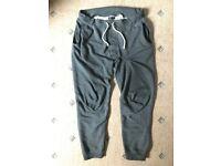 Gray grey tracksuit men's cotton trousers Cubus Size M medium