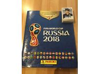 Panini 2018 World Cup Stickers