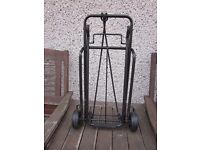 Trolly for carrying boxes etc, folding, ideal for antique fairs etc.