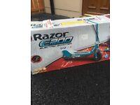 Razor E200 electric scooter .. Never used