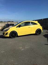 Limited edition 1.2 corsa low mileage excellent condition