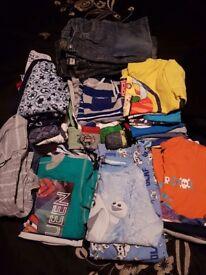 Big bundle of boys clothes age 3 - 6yrs