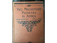 Two Missionary Pioneers In Africa