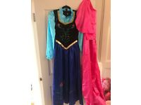 Adult costumes (used good condition) Elsa, Anna, Peppa Pig, Olaf, Dino, Wolf etc