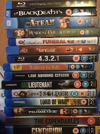 Blu ray dvd bundle