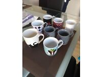 Mix of 8 mugs for £5