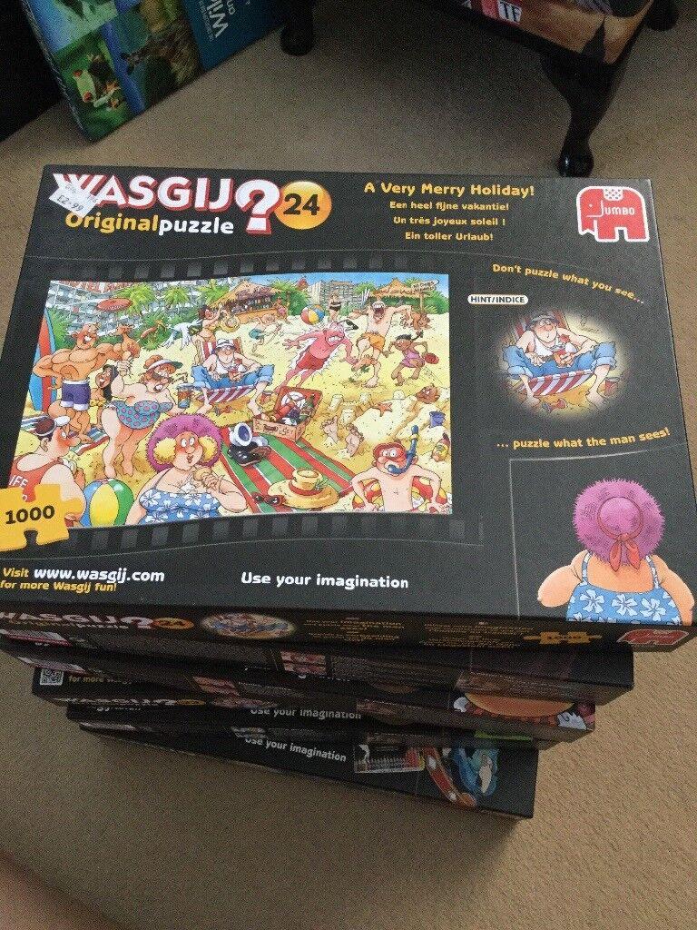 6x Wasgij puzzles
