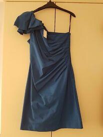 Blue warehouse dress, size 14/16