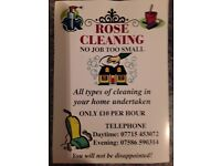 ARE YOU LOOKING FOR A CLEANER TO DO HOUSEHOLD CHORES.. CAN DO ALL TYPES OF CLEANING IN YOUR HOME ETC