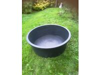 Large, strong container for small pond/water feature/planter or paddling pool