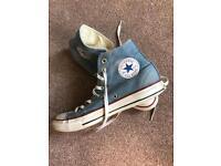 Converse Allstars in Denim UK 8