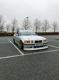 E36 323i coupe drift