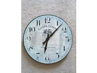 Wall clock, vintage French style