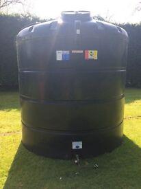 5000L oil tank Bunded