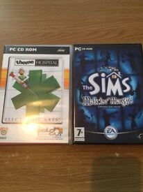 *Free* PC Games - Theme Hospital and The Sims Makin' Magic Expansion Pack