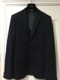 Navy Blue Suit from Moss