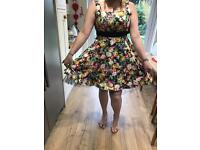 Hearts and roses brand dress